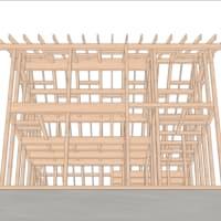 【ministock-12(modern)】広がる可能性-海辺の小さい家-