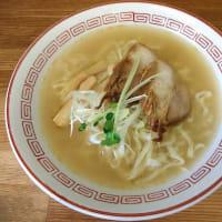 Weekendの麺処巡り 喜多方食堂 で 塩