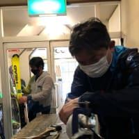 全日本に向けエッヂの調整