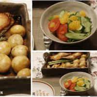 手抜き・・・オーブン料理