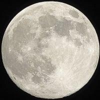 今年最大の月 Super moon