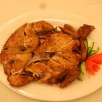 本場の西安名物料理---瓢箪チキン
