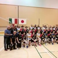 イタリアU16女子バレー代表親善交流