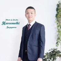 4/25 成人式後撮り 男性スーツ 札幌写真館ハレノヒ