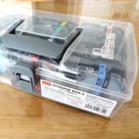 テプラテープがすっきり収まるケース