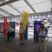 熊谷平和市民連絡会  6名がマイクを握り