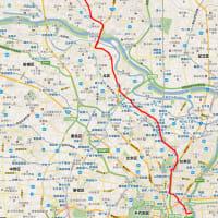 20110311 徒歩帰宅の記録