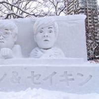 札幌雪祭り・市民雪像