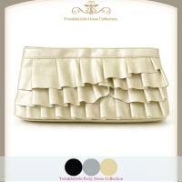 【結婚式バッグ】大きめ容量タップリパーティーバッグ6136