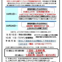 クリニック便り~2020年インフルエンザワクチン予防接種のお知らせ~