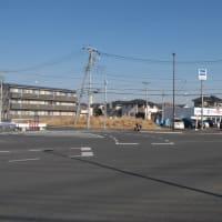 1月の習志野台:船橋市坪井町地区から緑が丘西四丁目地区内へ PART2