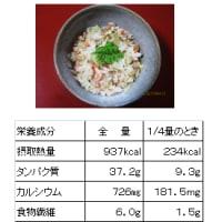 1269 筍とサクラエビのご飯