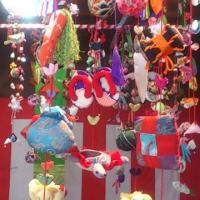 3月1日から 馬場の赤門 雛のつるし飾りまつり
