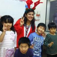 本校のお友だち Very Merry Christmas !with Bibu and Kusum