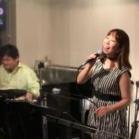 4月15日(木)の夜は、飯田さつき(vo)ライブでした!