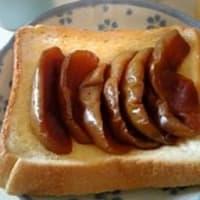 林檎のキャラメル煮
