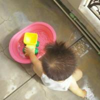【1歳3ヶ月と23日目】水遊びに飽きられる