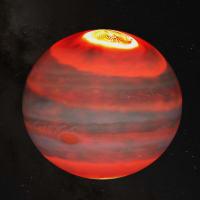 木星の高層大気が異常な高温になる原因はオーロラだった