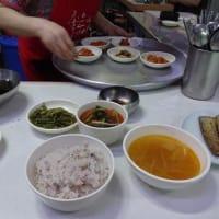 釜山でよく行くチャガルチの食堂