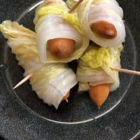 土鍋で ロール白菜のポトフ