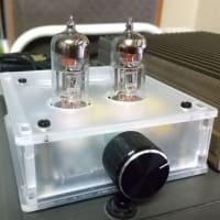格安の真空管式ヘッドホンアンプ