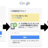 ♪ 2段階認証(グーグル)(*^^)v ・・・ ♪ 。。