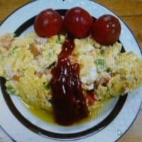 おばさんの料理教室No.3668 簡単オムレツ(2人分)