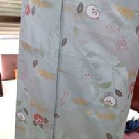 娘時代の小紋を50代で着るために・・染を楽しむ
