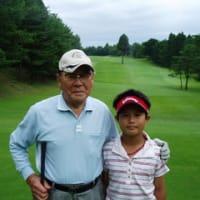 年の差、80歳のお誕生日記念ゴルフに参加!