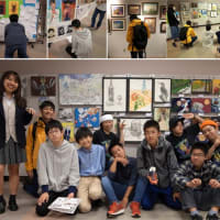 幼児と学生クラスの展覧会