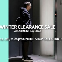 ATTACHMENT NAGOYA 2019 WINTER CLEARANCE SALE - ONLINE SHOP
