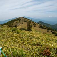 湯ノ丸山稜線から