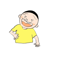 オノマトペ 笑いの感情「げらげら」