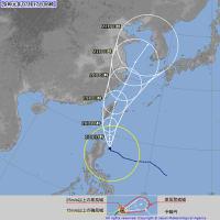 台風5号情報 7月17日 /2019台風5号/米軍台風5号