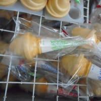 ソフトクリーム姿のままアイスに・・・むつかしい注文です。9月のイベント用に特別製造です。