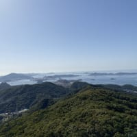 長崎市にある稲佐山へロードバイクで登りました。