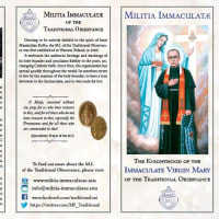 無原罪の聖母の騎士全員への指導司祭の手紙【第14号】―ロザリオ-2020年の決心ー