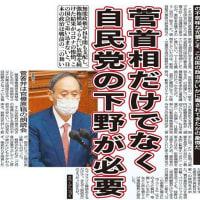 <「醜悪」「異様」な代表質問>菅義偉だけでなく自民党の下野が必要(日刊ゲンダイ) 赤かぶ 2021 年 1 月 22 日 21:40:05