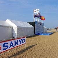 今度の土日、百道浜でライフセービング大会があるようです