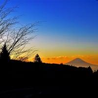 富士見町各所より富士を望む 2019初冬