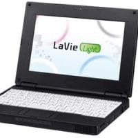 NECのNetbook「LaVie Light」登場!