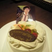 HAPPY BIRTHDAY 翔ちゃん♪