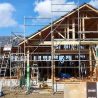 良い家を造ってわくわくプロジェクト!!『 長者小学校のお向かいHome 』⌂Made in 外房の家。は上棟後の大工工事順調進行中!です。