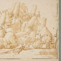 ティエポロ(Tiepolo)のプルチネッラ(Pulcinella)イギリスで発見ーロンドン