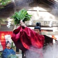 栄野神社湯立神事 (伊勢市二見町江)
