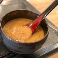 スープが超うまい!〆のリゾットもおいし♪ @ カニ蟹 crab noodle 三宮