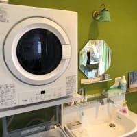 花粉症対策にも、ガス衣類乾燥機。