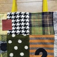 もひとつかばんが完成・・・ 今日は黄色とグリーン ニノと相葉ちゃん色ですねー