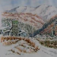 想い出めくり№6「船路雪景色2」
