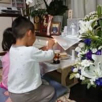 主人が亡くなって1ヶ月、賑やかに偲ぶことができました。